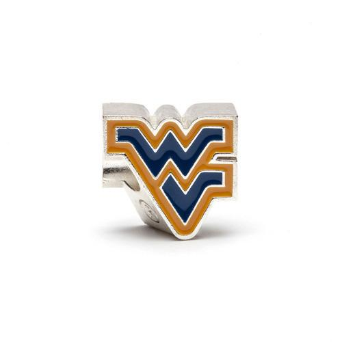 West Virginia Mountaineers Bead Charm Set of Two
