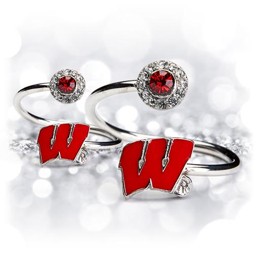 Gift Set- Wisconsin One for You and One for Me Rings