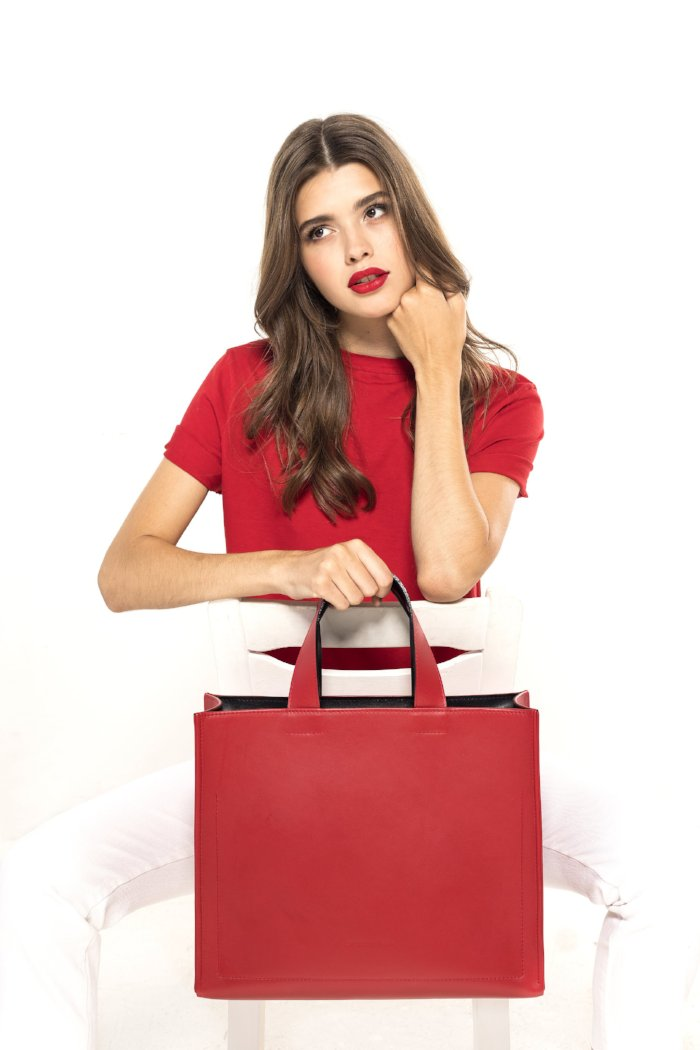 FRANKY BAG LARGE red