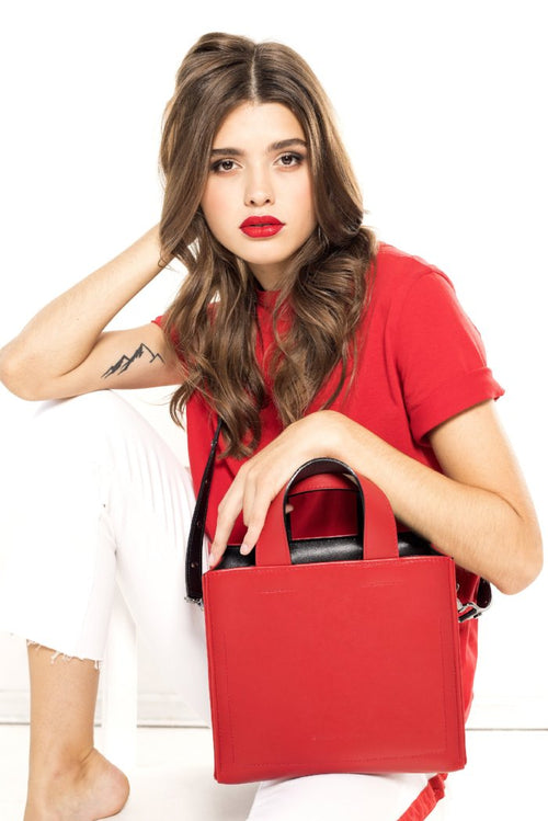 FRANKY BAG MEDIUM red
