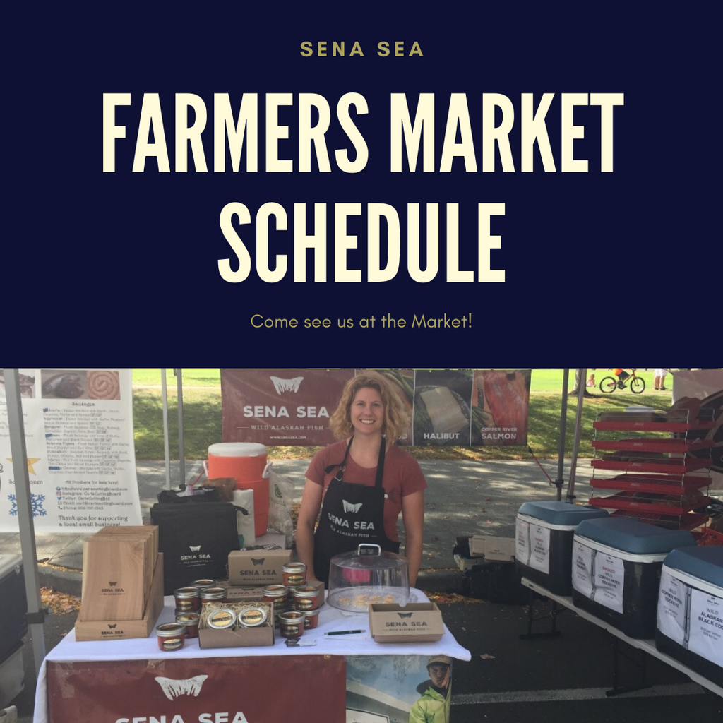 Farmer's Market Schedule - Come See Us!