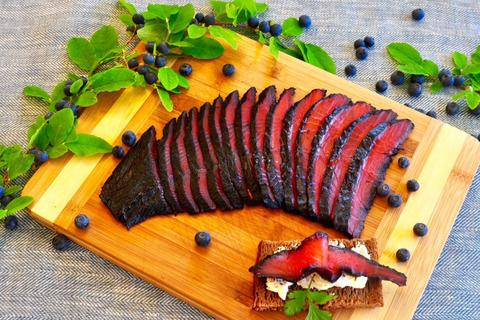 The Story of Our Copper River Blueberry Gravlox
