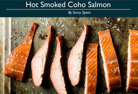 Hot Smoked Coho Salmon