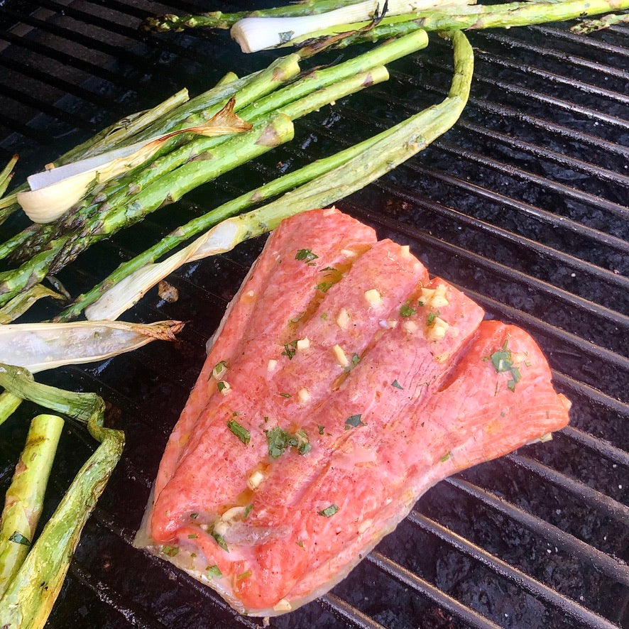 Summertime Grilled Salmon