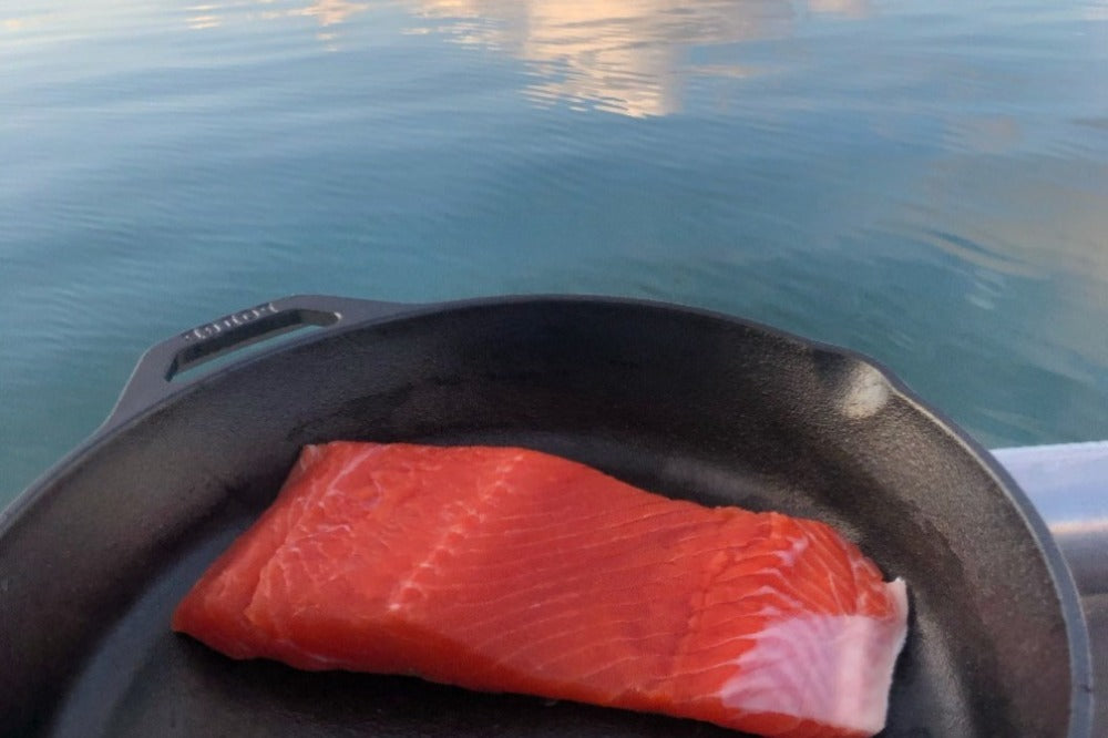 WILD ALASKAN COPPER RIVER COHO SALMON