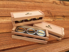 Smoked Salmon Jar, gift boxes