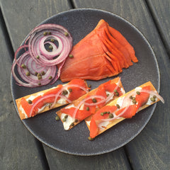 Copper River Sockeye Lox (cold smoked)