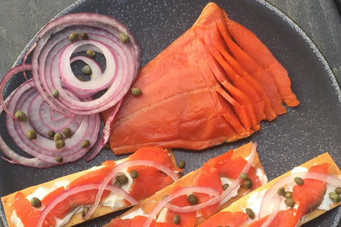 Copper River Sockeye, Lox (cold smoked)