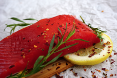 WILD ALASKAN COPPER RIVER SOCKEYE SALMON