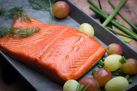 Wild Alaskan Copper River Sockeye Salmon, SMOKED