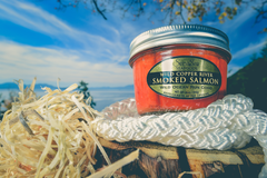 Smoked Salmon Jar, Copper River Coho