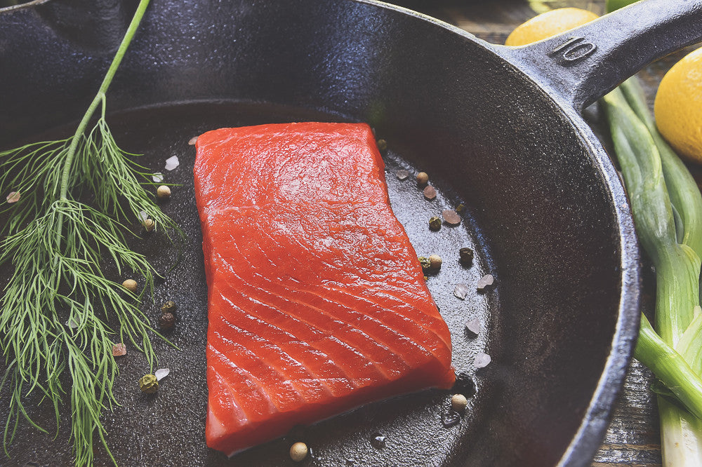 Copper River Sockeye Salmon
