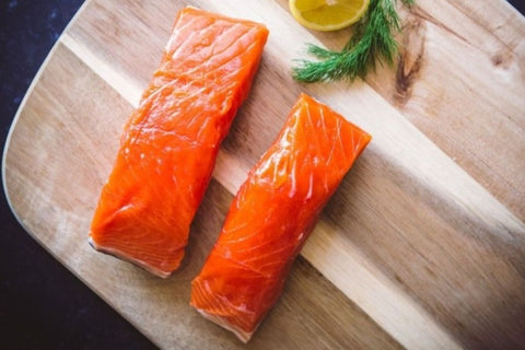 Wild Alaskan Copper River King Salmon