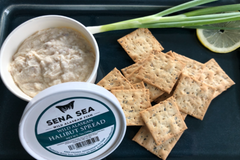WILD ALASKAN SMOKED HALIBUT SPREAD