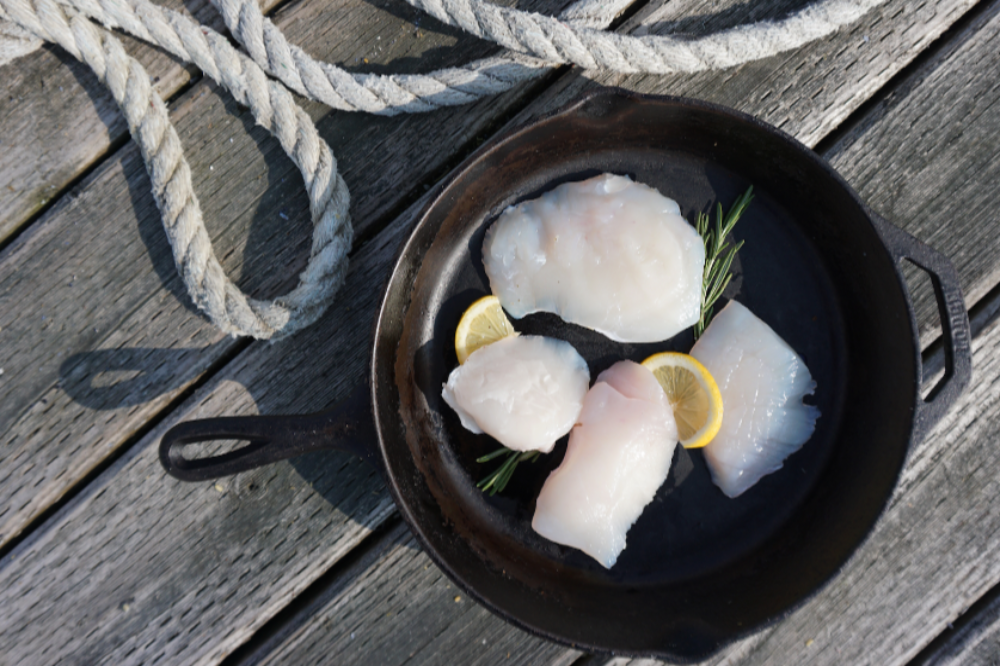 WILD ALASKAN HALIBUT CHEEKS