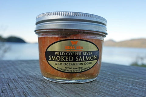 Copper River Coho Smoked Salmon Jar