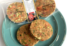 Copper River Sockeye Salmon Patties