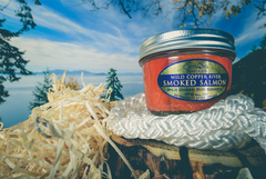 Wild Alaskan Smoked Salmon Jar, Copper River Sockeye