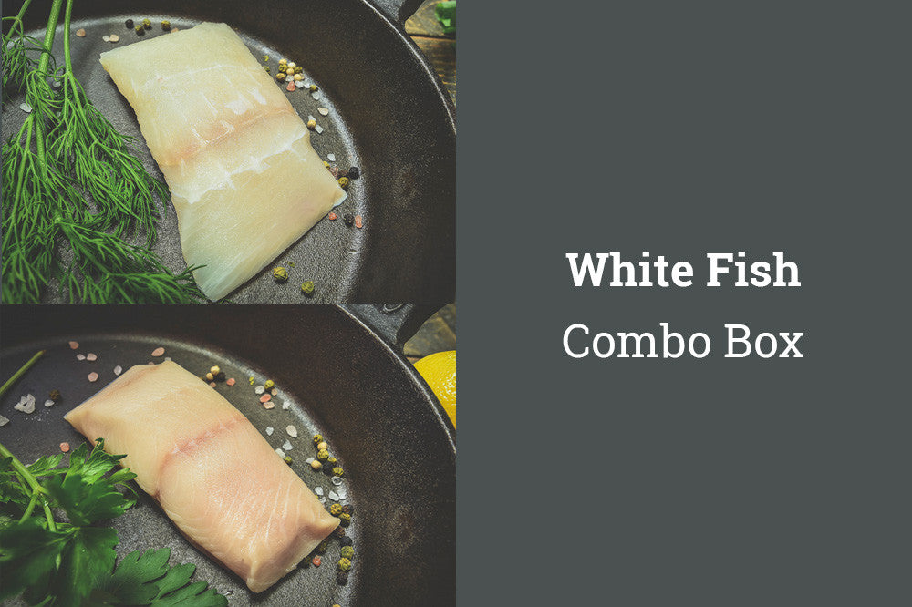 White Fish Combo Box (Halibut/Black Cod)