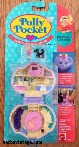 Polly Pocket 1993 MIP Dazzling Dog Show Front Package