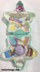 Polly Pocket 1992 MIP Fairy Wishing World Open Compact
