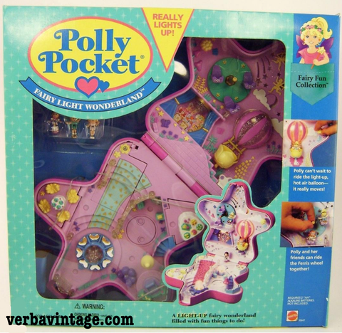 Polly Pocket 1993 MIP Fairylight Wonderland Front Package