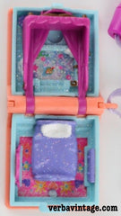 Polly Pocket 1995 MIP Glitter Dreams Locket Open Locket