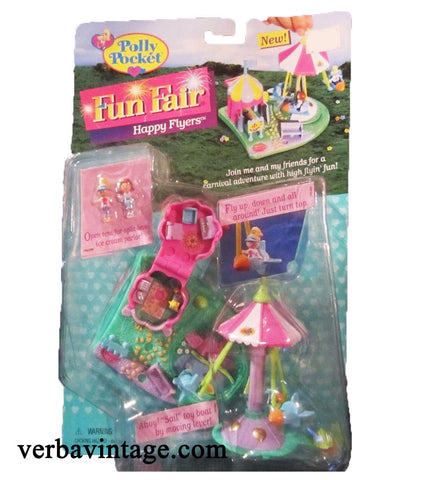 Polly Pocket 1996 MIP Happy Flyers Front Package