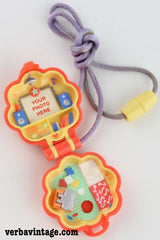 Polly Pocket 1991 MIP Polly Pocket In Her Music Room Locket Open Compact