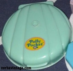 Polly Pocket 1991 MIP Pull-out Playhouse Make-up Compact