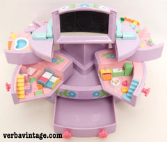 Polly Pocket 1991 MIP Pull-out Playhouse Open Playset