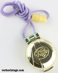 Polly Pocket 1993 MIP Seashine Mermaid Locket Closed Locket