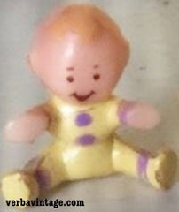 Polly Pocket 1994 MIP Strolling Baby Baby Boy