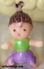 Polly Pocket 1994 MIP Strolling Baby Baby Girl