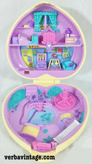 Polly Pocket 1994 MIP Strolling Baby Open Compact