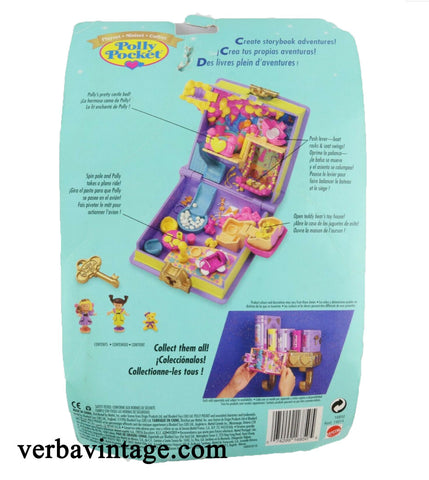 Polly Pocket 1996 MIP Toy Fun Playhouse Back Package