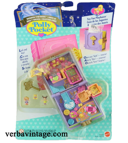 Polly Pocket 1996 MIP Toy Fun Playhouse Front Package