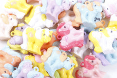Pick Your Own - My Little Pony Mommy Charms Charmkins Plastic Pony Charm Rare Hasbro UK Mail Order Miniature PVC Figure - pyo-1