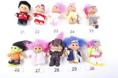 Pick Your Own - 90s Russ Troll Dressed Trolls, Huge Collection, Gift Troll, Doctor, Eskimo, Love, 1990s, Troll Lot, Troll Collection -170518