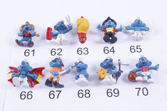PICK YOUR OWN #1 Vintage 80s Smurfs pvc Figures Toy Lot Cake Toppers Schleich Peyo 1980s Lot Toy Figure Lot Preschool Toy Lot pyo-4