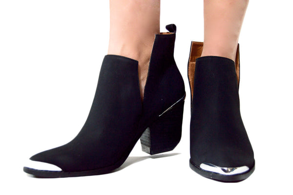 URBAN COWGIRL BOOTIE - BLACK