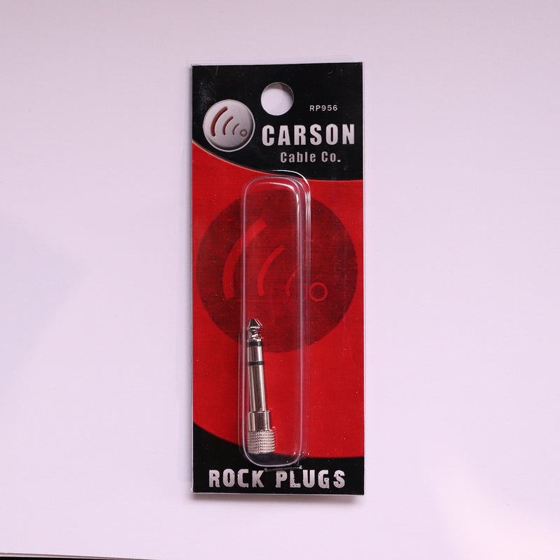 Carson 6.3 to 3.5 Stereo Adaptor