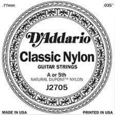D Addario Nylon Single  J2705