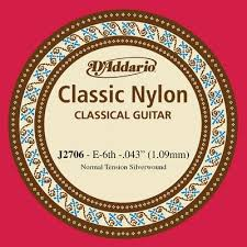 D Addario Nylon Single J2706