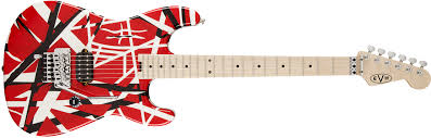 EVH Stripe Series Strat - Red