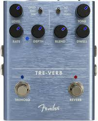 Fender Tre-Verb Digital Reverb /Trem