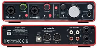 Focusrite Scarlett 2i4 USB Interface