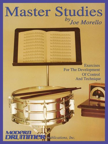 Hal Leonard Master Studies Joe Morello