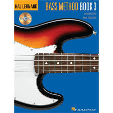 Hal Leonard Bass Method Bk3+CD