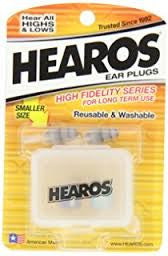 Hearos High Fidelity Earplugs - Standard